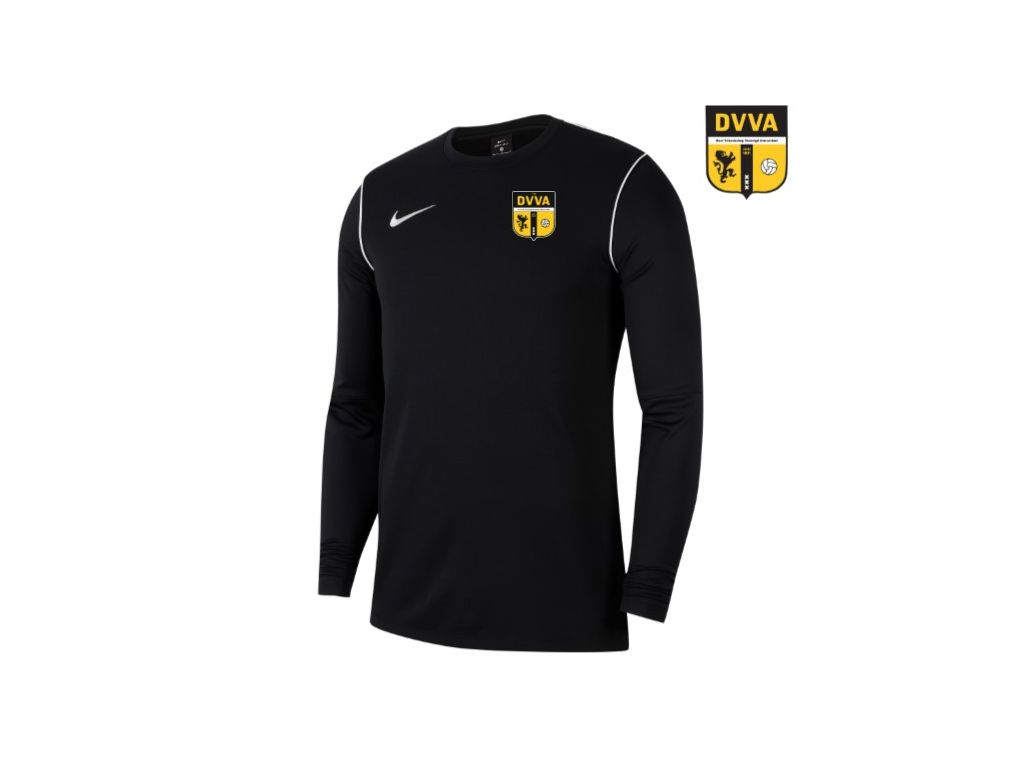 DVVA Nike Dri-FIT Park 20 Crew Top Zwart