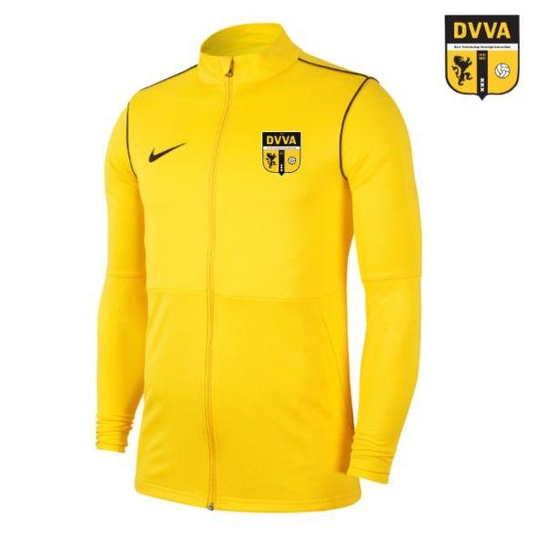 DVVA Nike Park 20 Knit Track Jacket Geel