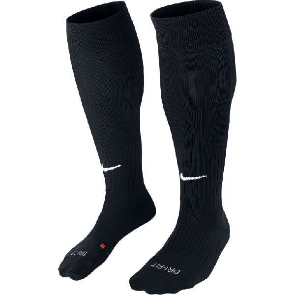 DVVA Nike - UNISEX CLASSIC II SOCK Zwart