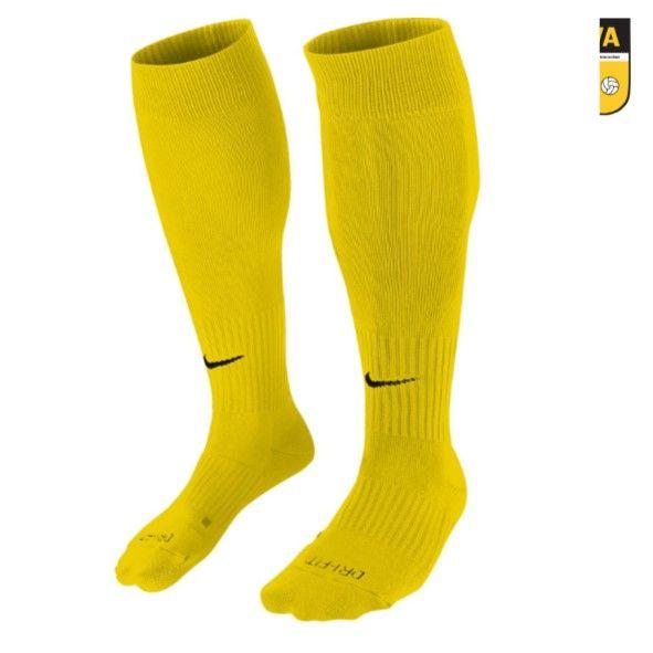 DVVA Nike - UNISEX CLASSIC II SOCK Geel
